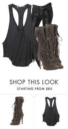 """""""Untitled #771"""" by whokd ❤ liked on Polyvore featuring Balmain, Aquazzura, T By Alexander Wang, women's clothing, women, female, woman, misses and juniors"""