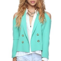 Cut Out Blazer Brand new with tags Forever 21 Jackets & Coats Blazers
