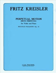 Perpetual Motion (Moto Perpetuo) (Solo Part with Piano)
