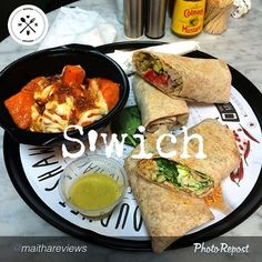 "#UAEFood #NewDubaiRestaurant #Review by #Emirati #DubaiBlogger @maithareviews ""@myswich a gourmet Shawarma eatery located in Dubai Marina that has opened it's doors approximately two weeks ago  The location was easy to find and there was enough parking available. If you've been to @Jane W it's the first building on that street to the left (if wingsters is on your right)  I loved the simple sleek interior of the place. The only problem is that there's only two small tables with 6 stools in…"