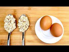 Εάν έχετε 2 EGGS και 2 κουταλιές της σούπας βρώμης, κάντε αυτή τη συνταγή! Υγιεινό και φθηνό φαγητό! - YouTube Breakfast Items, Breakfast For Dinner, Breakfast Dishes, Breakfast Recipes, Dessert Recipes, Halal Recipes, Cooking Recipes, Healthy Recipes, Creamy Chicken And Noodles