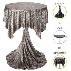 Glam up your highboys & lowboys with our highboy drapes. They're prefect for mixing & matching… and set up is a snap!
