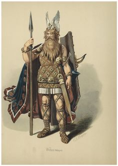 Odin (Scandinavian), Woden (Saxon), Wotan (Continental German), is god of War… Tribal Chieftain, Sketchbook Inspiration, Norse Symbols, Norse, Ancient Warriors, Germanic Tribes, Anglo Saxon, Mythology, Warrior
