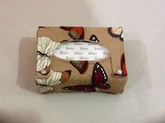 Sewing Studio, Tissue Holders, Projects To Try, Coin Purse, Gift Ideas, Purses, Knitting, Crochet, Gifts
