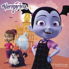 Vampirina 2019 Wall Calendar, Animated Movies by ACCO Brands