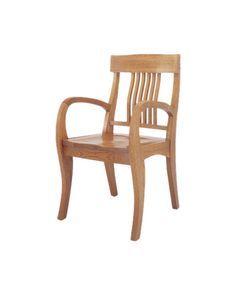 athenaeum arm chair ramsa - Vintage Wooden Dining Chairs
