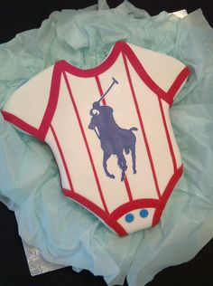 Alys Cakes & Bakery: Polo themed Cake for a special Baby Shower