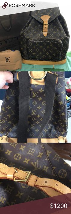 8746ea20bc67 GREAT CONDITION Authentic LV Backpack. PRICE FIRM BUNDLE SAVE NO FRE