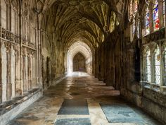 Dating back to the late 7th century, the cathedral has some of the earliest evidence of medieval sports such as golf detailed in the stain glass windows. Edward II is buried here.