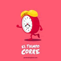 El Tiempo correeeeee. :D #compartirvideos #imagenesdivertidas