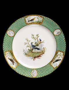 Assiette unie | Sèvres porcelain factory | V Search the Collections