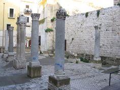 Urban archeology, Madonna del buon consiglio, Bari, Apulia, Italy