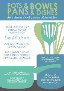 Freebies: Modern Kitchen Shower U2013 Bridal Shower Theme | Kreative Event  Services