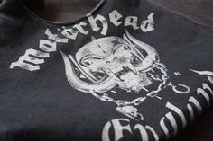 Motorhead  Upcycled Rock Band Tshirt Purse  OOAK by evilrose, $26.00