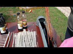 Мастер класс 2 Покраска газетных трубочек - YouTube