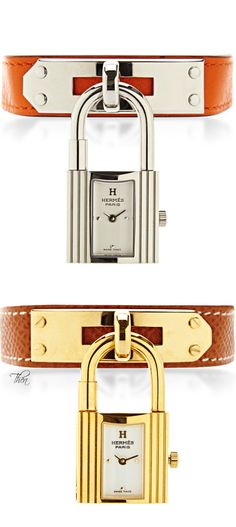 ~Hermes Kelly Watch With Lock | The House of Beccaria