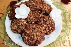 Di gotuje: Czekoladowe ciasteczka z płatków owsianych bez pie...