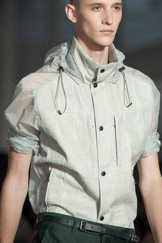 #Lanvin spring summer 13 technical jacket shirt