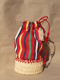 Coiled Basket Bag by ProducoesCoracao on Etsy, $27.49