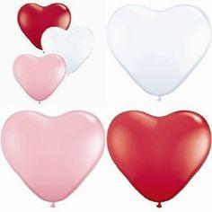 100 x 6 inch Heart Balloons Engagement by GemsWeddingSupplies, $32.00