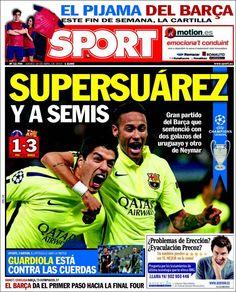 Portada Sport 16/04/2015