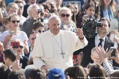 Durante audiência geral, Papa falou sobre benefícios do perdão (foto: ANSA)