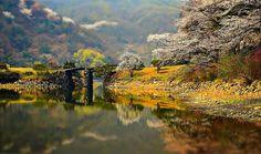Stone bridge, South Korea