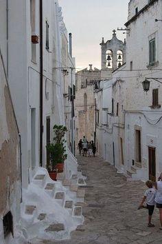 Ostuni, Apulia, Italy