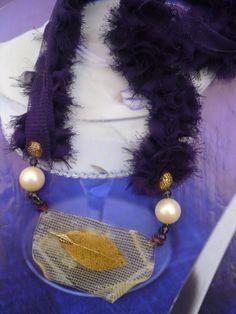 necklace resin - Rossana Rubino