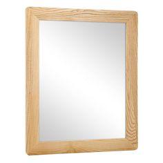 Buy Oak Effect Bathroom Mirror At Argoscouk