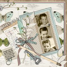 Yours Truly Collection Biggie, designed by Angie Briggs, Scrap Girls, LLC digital scrapbooking product designer