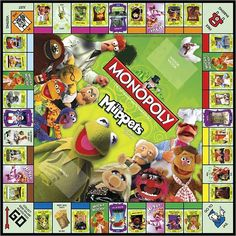 Muppets Monopoly and yes I own it :-)