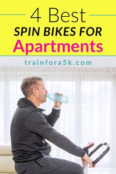 Unlike treadmills, and other exercise equipment, a spin cycle is an ideal machine for small enclosed areas. Apartments, being somewhat cramped by their very nature, require a machine that adapts to tiny geometry. We are here to take a look best indoor bikes for small apartments out there. The criteria we employed, in our search for those jewels, is that they must meet the following requirements: Easy To Assemble, Indoor Use, Durable, Comfortable and Small Space Friendly. Read our reviews! 5k Training Plan, Strength Training For Runners, Indoor Cycling Bike, Cycling Bikes, Winter Running, Spinning Workout, Spin Bikes, Treadmills, Exercise Equipment