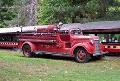 Knoebels Amusement Park restores their 1940 Chevrolet Fire Truck!
