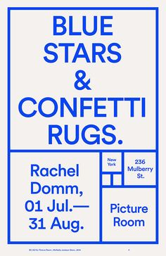 Blue Stars & Conferri Rugs — Designspiration