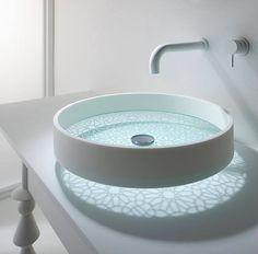 Beautiful bathroom sink design...
