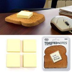 Notas quentinhas com manteiga!