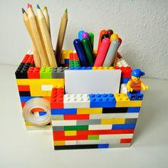Ines Felix - Kreatives zum Nachmachen: LEGO-Regen-Sonntagsprojekt