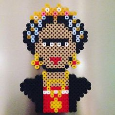 perler beads frida chalo - חיפוש ב-Google