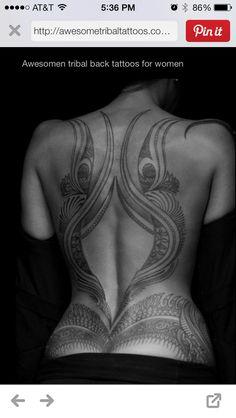 45 Maori Tribal Tattoo Designs You Should Consider For First Ink - Beste Tattoo Ideen Tribal Tattoo Designs, Tribal Back Tattoos, Tribal Tattoos For Women, Cute Tattoos For Women, Tattoo Designs For Women, Lower Back Tattoos, Tribal Women, Body Art Tattoos, Girl Tattoos