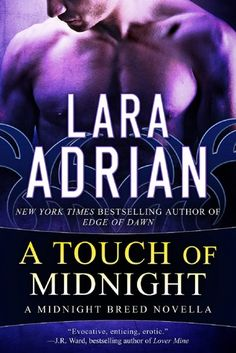A Touch of Midnight by Lara Adrian: An OK back story on Gideon and Savannah. There wasn't much time to develop a good, can't-put-down installment like the other books in the series since this was a free novella, but it did answer some questions about the couple.