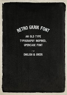 60 Fonts for Hipsters