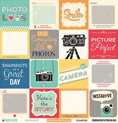 Compose Paper - Daily Flash - Snapshots - October Afternoon quote cards