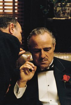 "vintagegal: """"I'm gonna make him an offer he can't refuse."" The Godfather (1972) """
