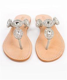 Mystique silver sandals