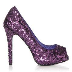 pretty purple pumps!!!