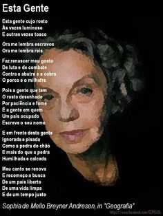 Sophia de Mello Breyner Andresen Portuguese Culture, Wise Words, Literature, Motivational Quotes, Writer, Thoughts, Reading, Books, Women