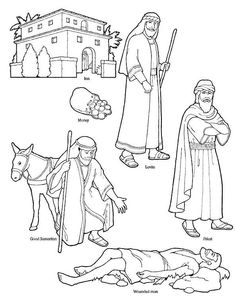 First Commandment Clip Art   Good Samaritan. Here is a link to some Printables you can use for the ...