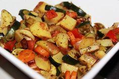 Sage Roasted Vegetables, Fall Recipe