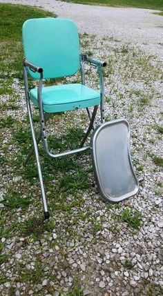 Vintage Cosco high chair 1960swe had a white one